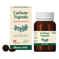 Carbone vegetale 40 compresse