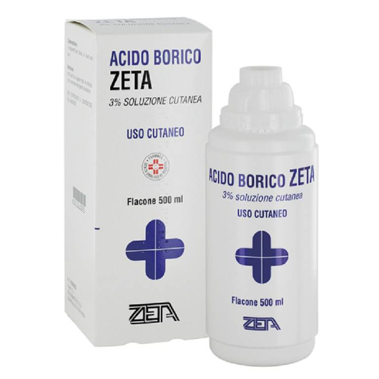 ACIDO BORICO*3% 500ML