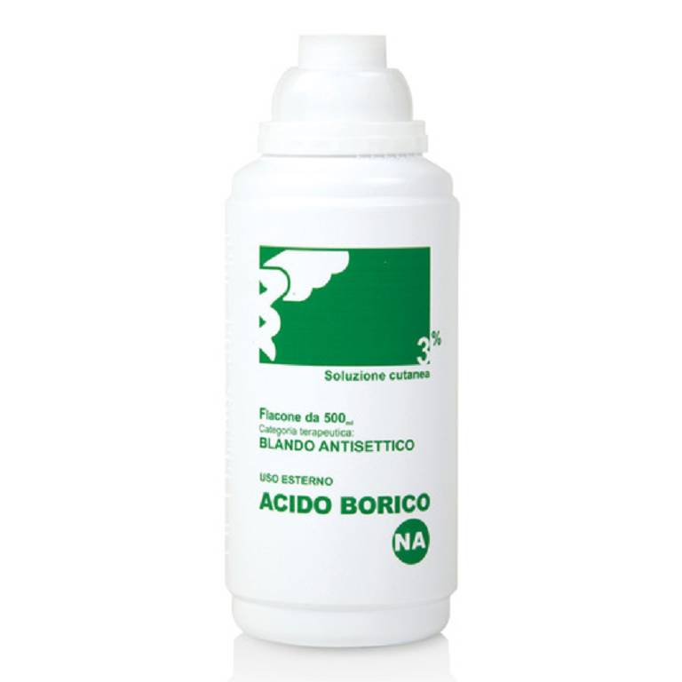 ACIDO BORICO*SOL CUT 3% 500ML