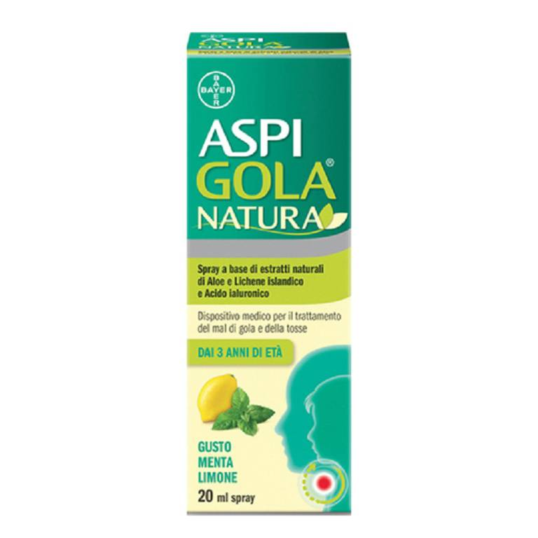 ASPI GOLA NATURA SPRAY MEN/LIM