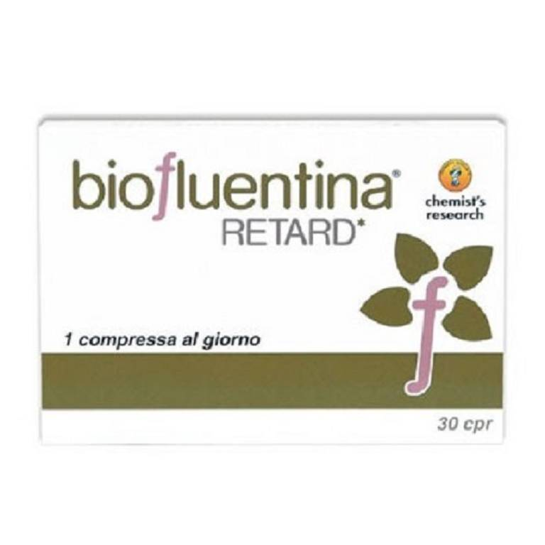 BIOFLUENTINA RETARD INT 30CPR