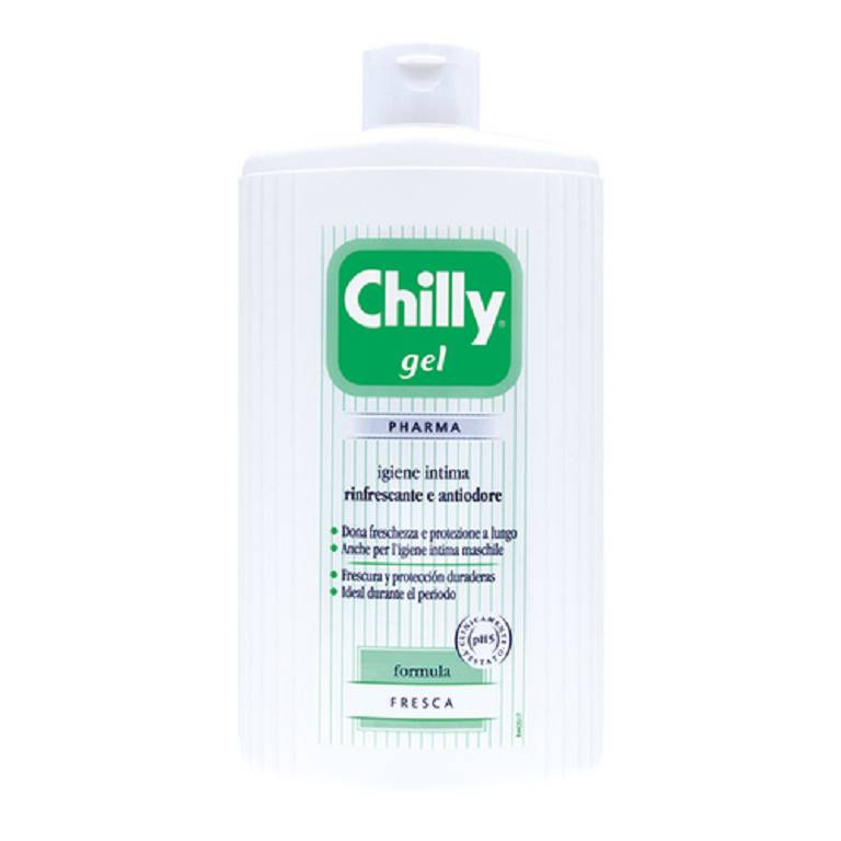 CHILLY GEL DETERGENTE VERDE 500 ml