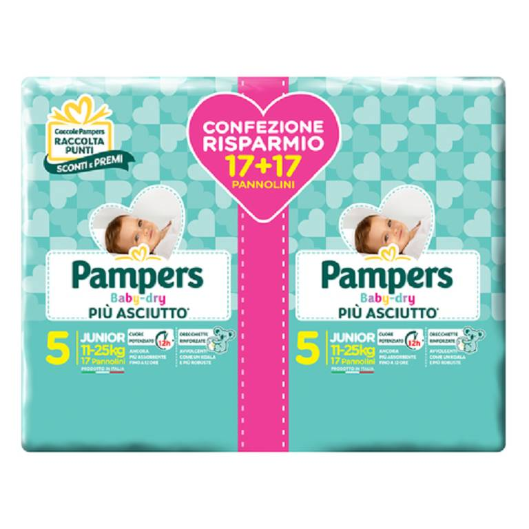 PAMPERS BABY DRYDUO DWCT JX34P